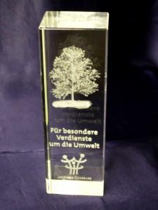Der Umweltpreis des Landkreises Günzburg wird bereits seit 1986 verliehen.