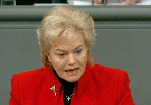 Erika Steinbach, Deutscher Bundestag / Lichtblick / Achim Melde,  Text: über dts Nachrichtenagentur