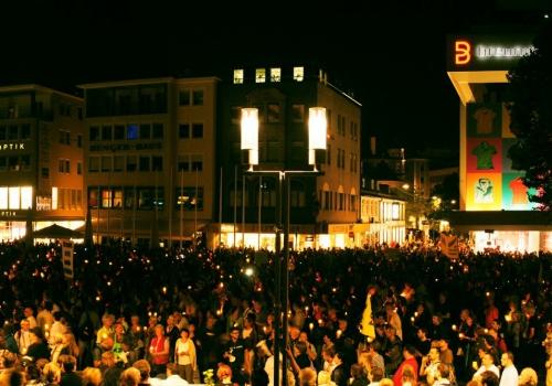 Protestveranstaltung gegen