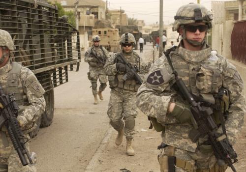 US-Soldaten auf Patrouille im Irak , über dts Nachrichtenagentur