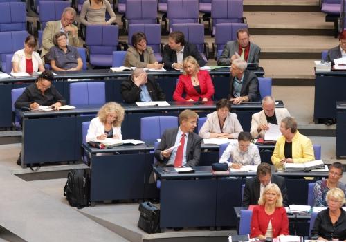 Linke-Bundestagsfraktion, über dts Nachrichtenagentur