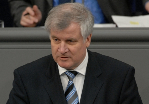 Horst Seehofer,  Deutscher Bundestag/Lichtblick/Achim Melde,  Text: über dts Nachrichtenagentur