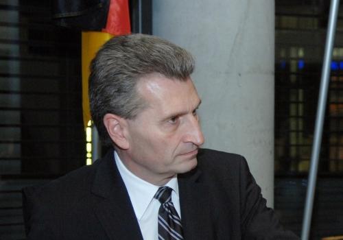 Günther Oettinger, Deutscher Bundestag/Lichtblick/Achim Melde,  Text: über dts Nachrichtenagentur