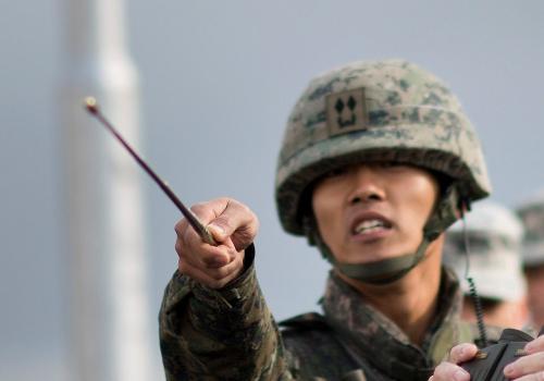 Südkoreanischer Soldat, über dts Nachrichtenagentur