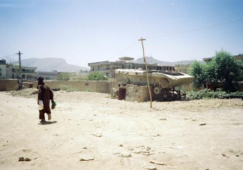 Alter Panzer in Afghanistan, über dts Nachrichtenagentur