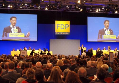 FDP-Parteitag, über dts Nachrichtenagentur