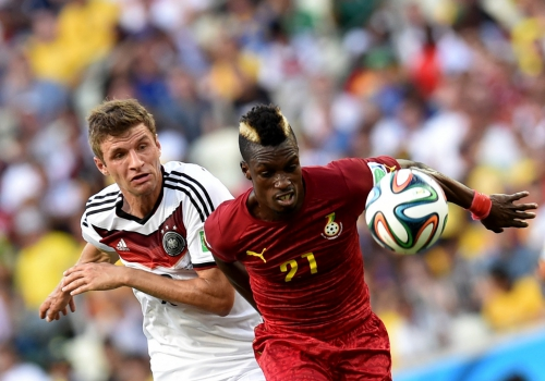 WM-Spiel Deutschland-Ghana am 21.06.2014, Pressefoto Ulmer/Michael Kienzler, über dts Nachrichtenagentur