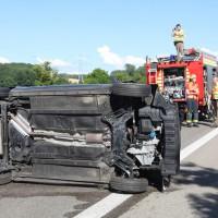 B28 Senden PKW Unfall mit 3 Verletzten