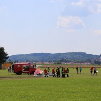 Tannheim - Ultraleichtflieger abgestürzt - ein Toter, ein Schwerverletzter