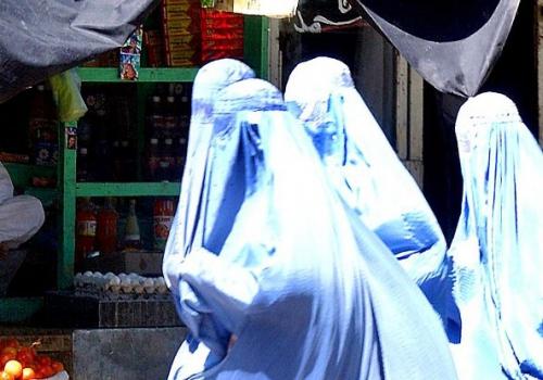 Burka-Trägerinnen, über dts Nachrichtenagentur
