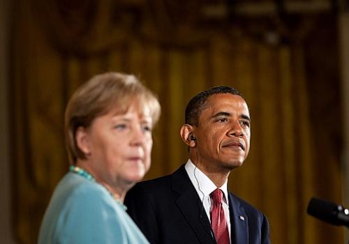 Angela Merkel und Barack Obama, über dts Nachrichtenagentur