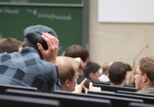 Studenten in einer Universität, über dts Nachrichtenagentur