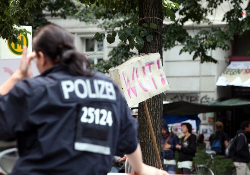 Polizei in Berlin-Kreuzberg (Archiv), über dts Nachrichtenagentur