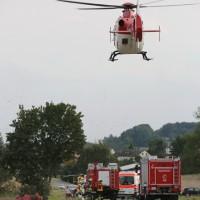 BaWü Ehingen VU 2x schwer verletzt