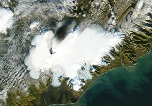 Vatnajökull, größter Gletscher Islands, über dts Nachrichtenagentur