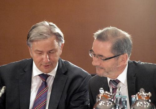 Klaus Wowereit und Matthias Platzeck, über dts Nachrichtenagentur