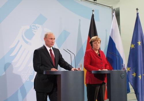 Angela Merkel und Wladimir Putin, über dts Nachrichtenagentur