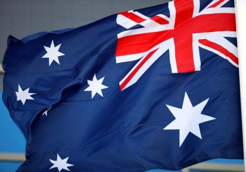 Fahne von Australien, über dts Nachrichtenagentur