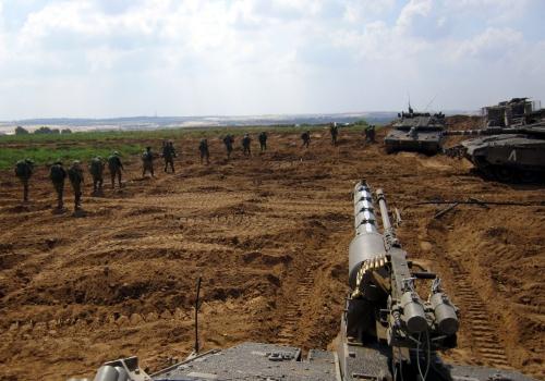 Israelische Soldaten im Gaza-Konflikt 2014, Israel Defense Forces, Lizenztext: dts-news.de/cc-by