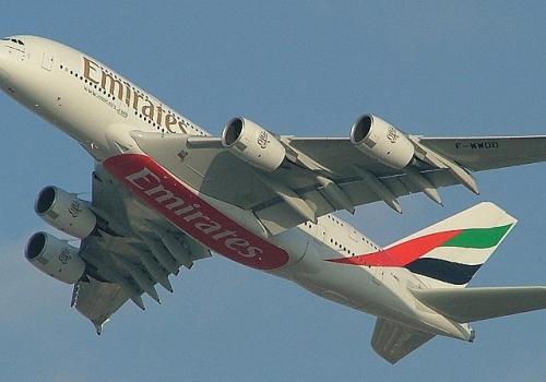 Emirates Airlines A380, über dts Nachrichtenagentur