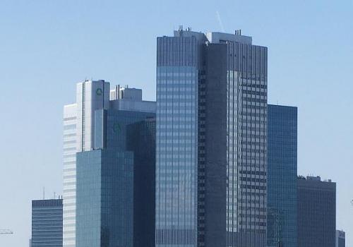 Bankenviertel in Frankfurt am Main, über dts Nachrichtenagentur