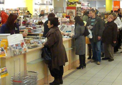 Verkauf in einem Kaufhaus, über dts Nachrichtenagentur