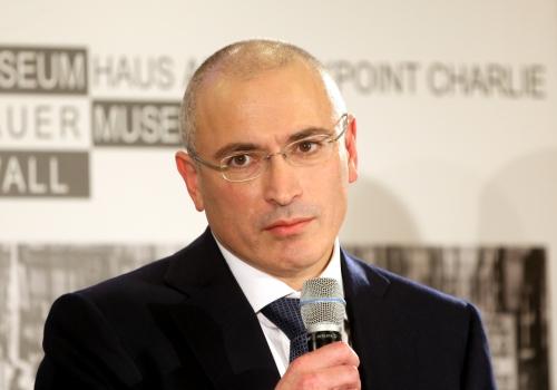 Michail Borissowitsch Chodorkowski am 22.12.2013 in Berlin, über dts Nachrichtenagentur