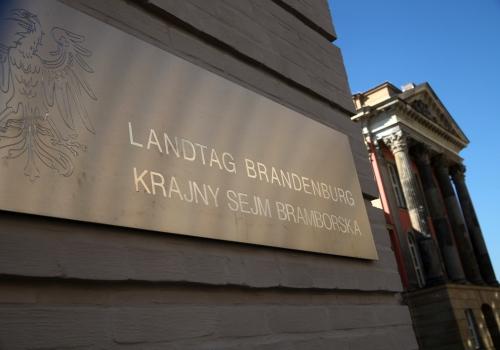 Landtag Brandenburg, über dts Nachrichtenagentur