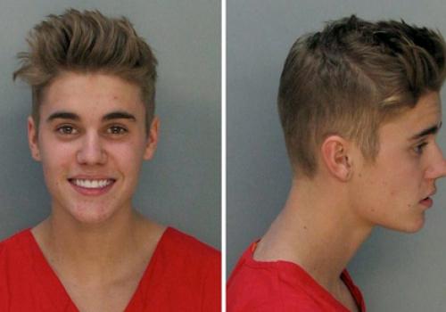 Justin Bieber nach Festnahme im Januar 2014, Miami-Dade Corrections & Rehabilitation Dept.,  Text: über dts Nachrichtenagentur