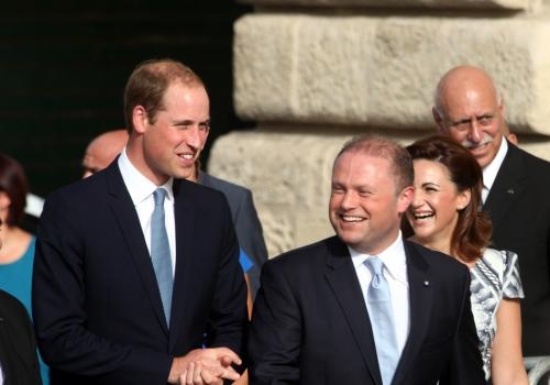 Prinz William am 20.09.2014 auf Malta, über dts Nachrichtenagentur