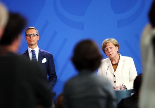 Alexander Stubb und Angela Merkel am 29.09.2014, über dts Nachrichtenagentur