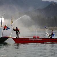 KAT Schutz-Ostallgäu-Oberallgäu-Füssem-Forggensee-THW-Feuerwehr-Rettungsdiest-Schiff-Brand-Wasserwacht-Verletzte-11.10.2014-Bringezu-new-facts (453)