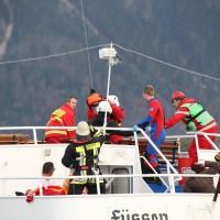 KAT Schutz-Ostallgäu-Oberallgäu-Füssem-Forggensee-THW-Feuerwehr-Rettungsdiest-Schiff-Brand-Wasserwacht-Verletzte-11.10.2014-Bringezu-new-facts (619)