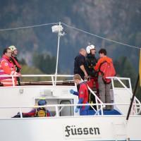 KAT Schutz-Ostallgäu-Oberallgäu-Füssem-Forggensee-THW-Feuerwehr-Rettungsdiest-Schiff-Brand-Wasserwacht-Verletzte-11.10.2014-Bringezu-new-facts (684)