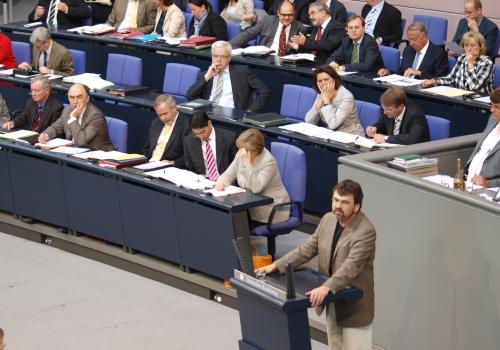 Bundestagsdebatte, über dts Nachrichtenagentur