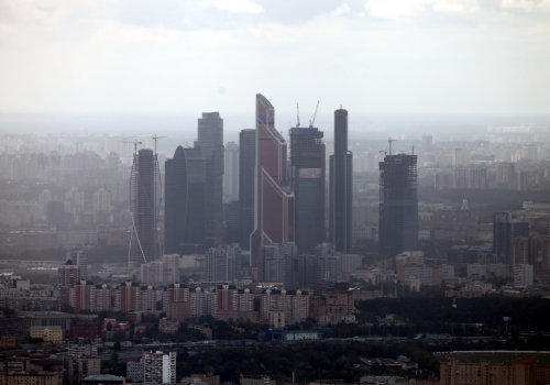 Finanzviertel von Moskau, über dts Nachrichtenagentur