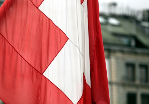 Fahne der Schweiz, über dts Nachrichtenagentur