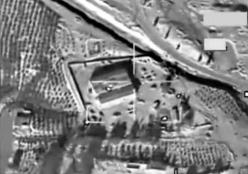 US-Luftangriff auf IS-Stellung in Syrien, über dts Nachrichtenagentur