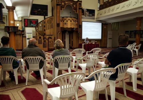 Tag der offenen Moschee in der Neuköllner Begegnungsstätte (NBS), über dts Nachrichtenagentur