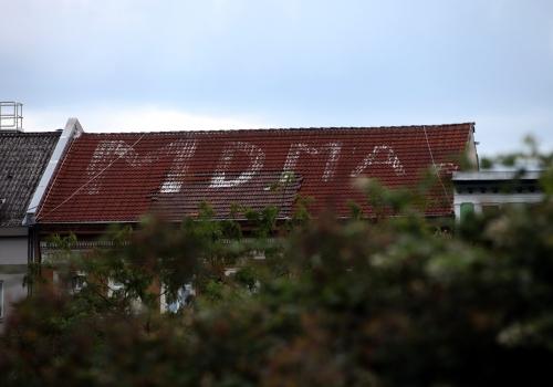 MDMA-Schriftzug auf Haus am Görlitzer Park, über dts Nachrichtenagentur