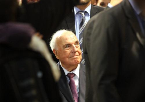 Helmut Kohl am 08.10.2014, über dts Nachrichtenagentur