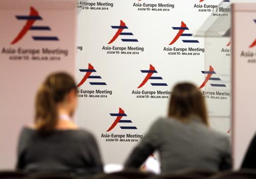 ASEM-Gipfel 2014 in Mailand, über dts Nachrichtenagentur