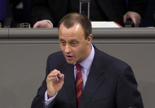 Friedrich Merz, Deutscher Bundestag / MELDEPRESS / Sylvia Bohn,  Text: über dts Nachrichtenagentur