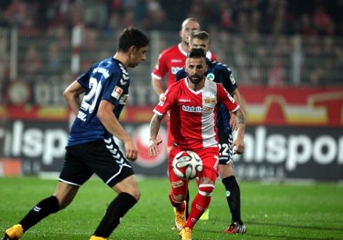 Union Berlin - Greuther Fürth am 31.10.2014, über dts Nachrichtenagentur