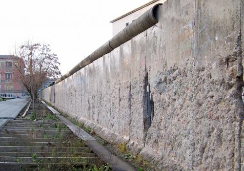 innerdeutsche Mauer, Niederkirchnerstraße in Berlin, über dts Nachrichtenagentur
