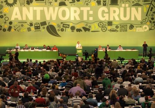 Parteitag von Bündnis 90 / Die Grünen, über dts Nachrichtenagentur
