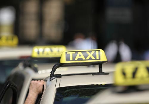 Taxi-Fahrer, über dts Nachrichtenagentur