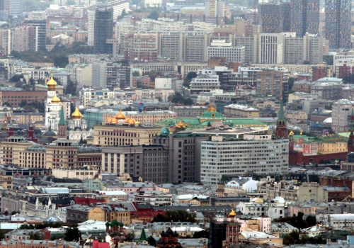 Blick über Moskau mit dem Kreml, über dts Nachrichtenagentur
