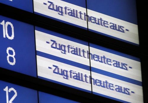 Zugausfälle bei der Bahn, über dts Nachrichtenagentur