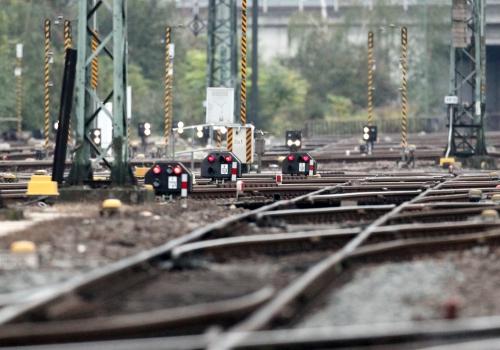 Gleisanlage bei der Bahn, über dts Nachrichtenagentur